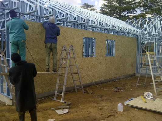 Light Steel Frame Structures Cape Town South Africa: Prefabricated Buildings